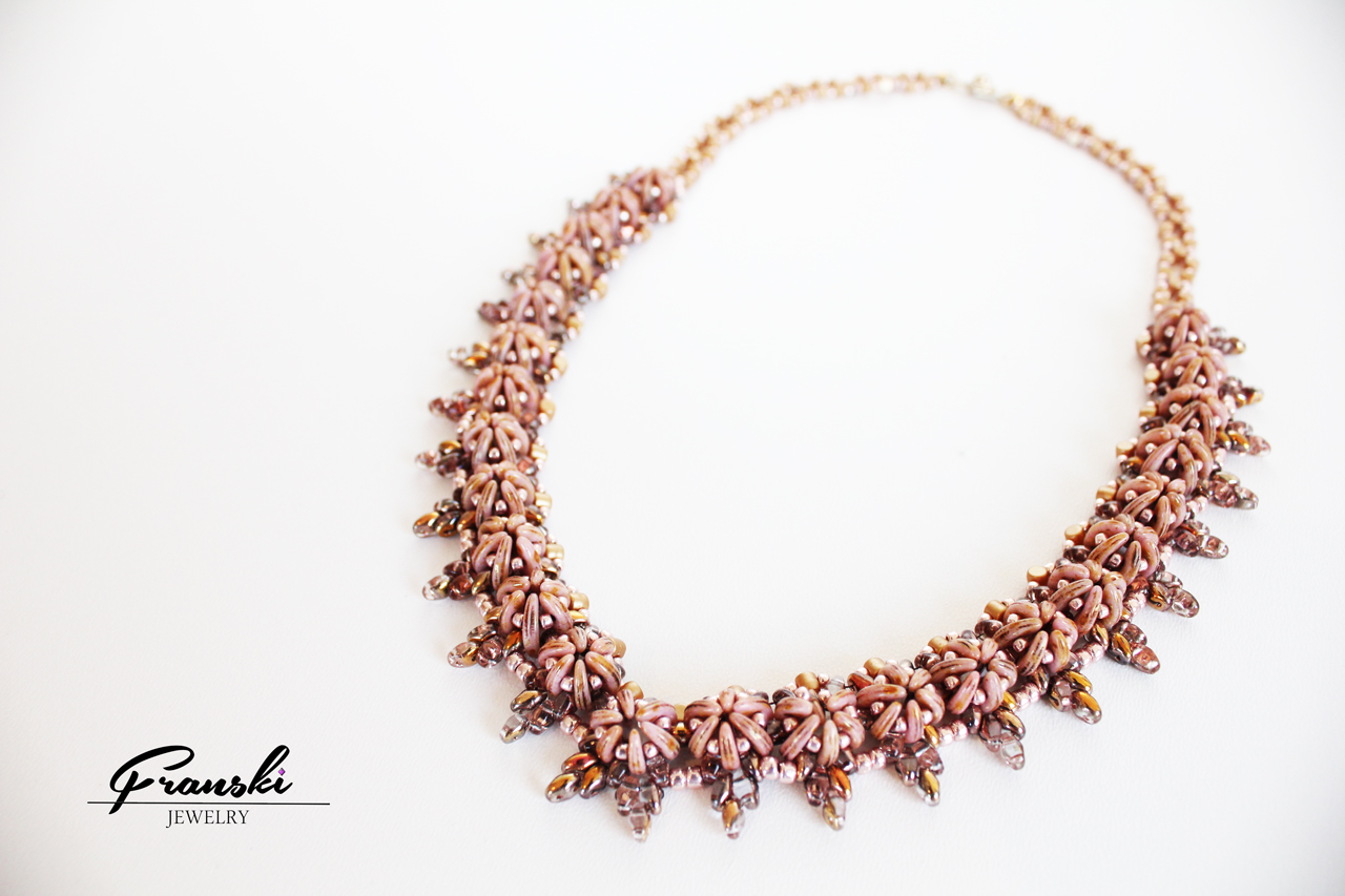 Clemency Necklace- Handmade Beaded Necklace